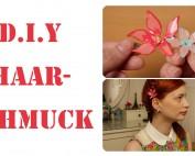 Drahtblumen Haarschmuck