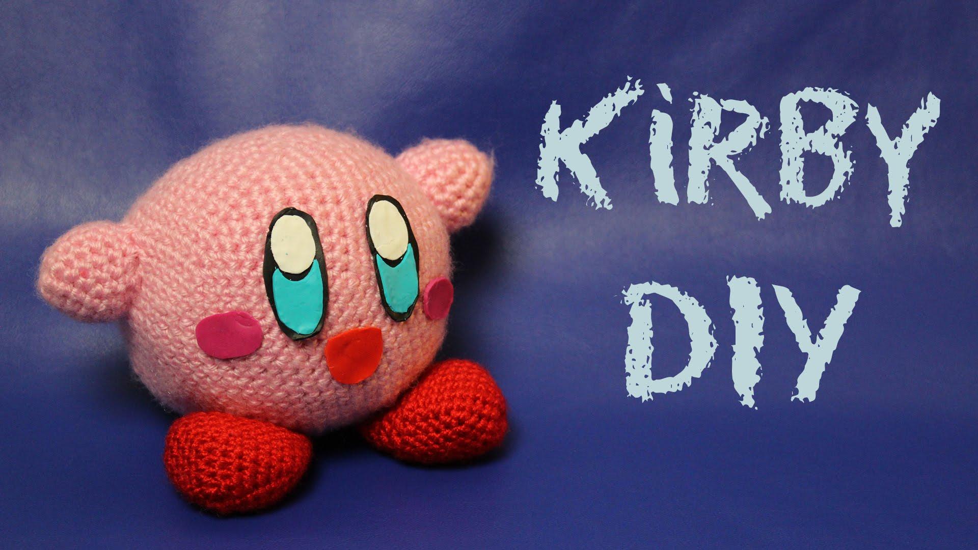 Kirby Nintendo Justmikode Gratis Anleitungen Zum Häkeln