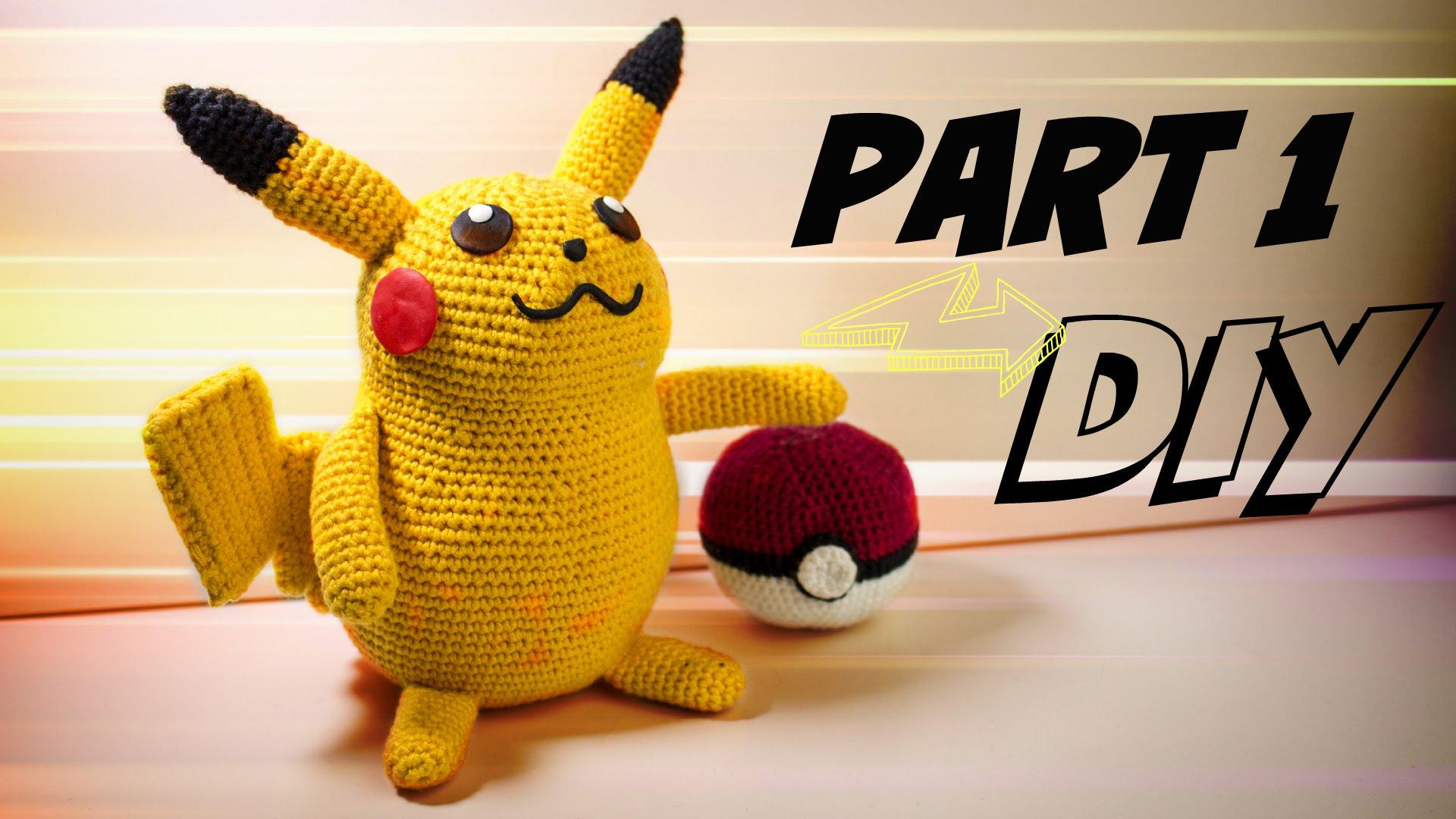 Pikachu Pokémon Justmikode Gratis Anleitungen Zum Häkeln