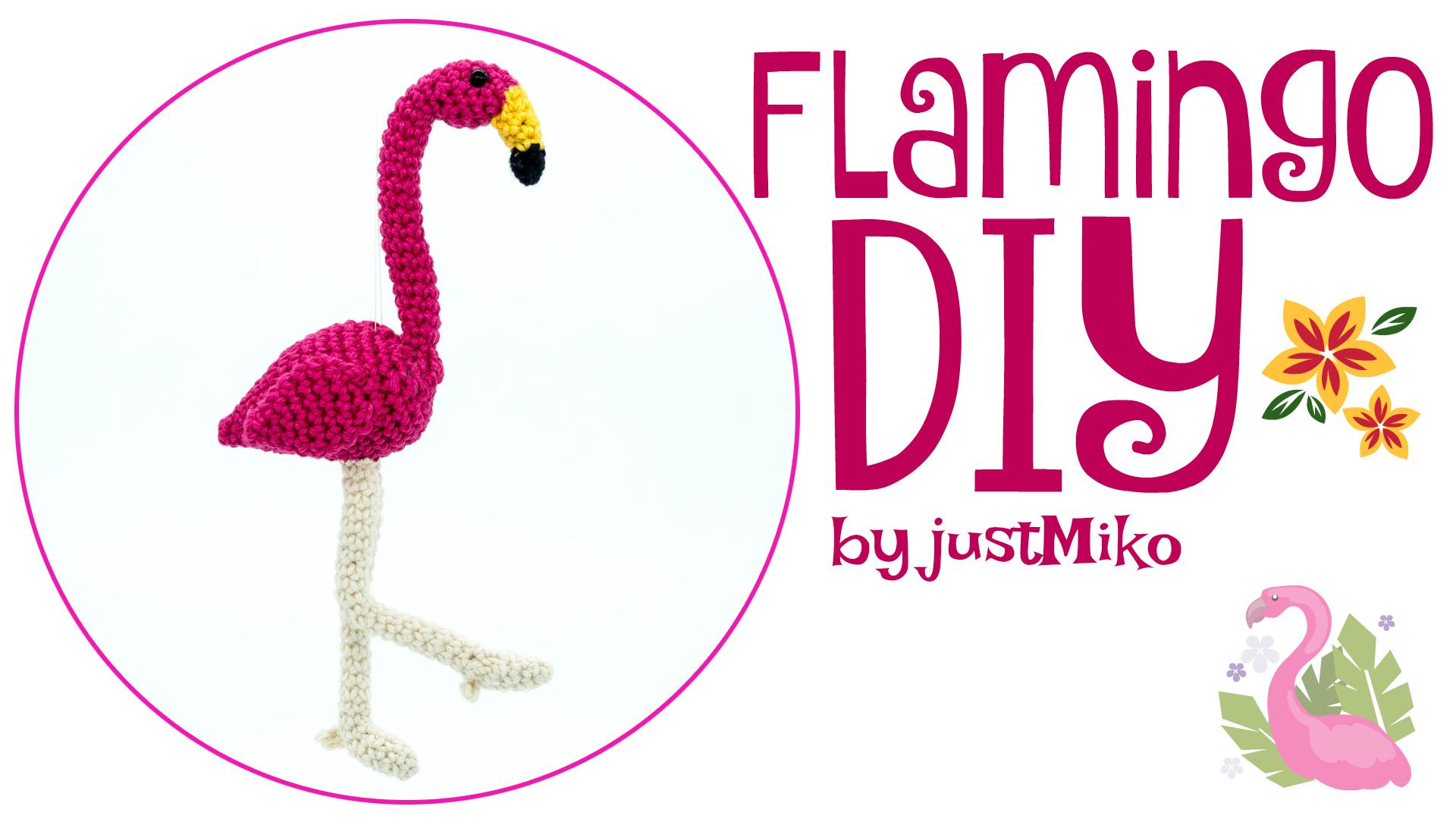 Flamingo Justmikode Gratis Anleitungen Zum Häkeln Stricken