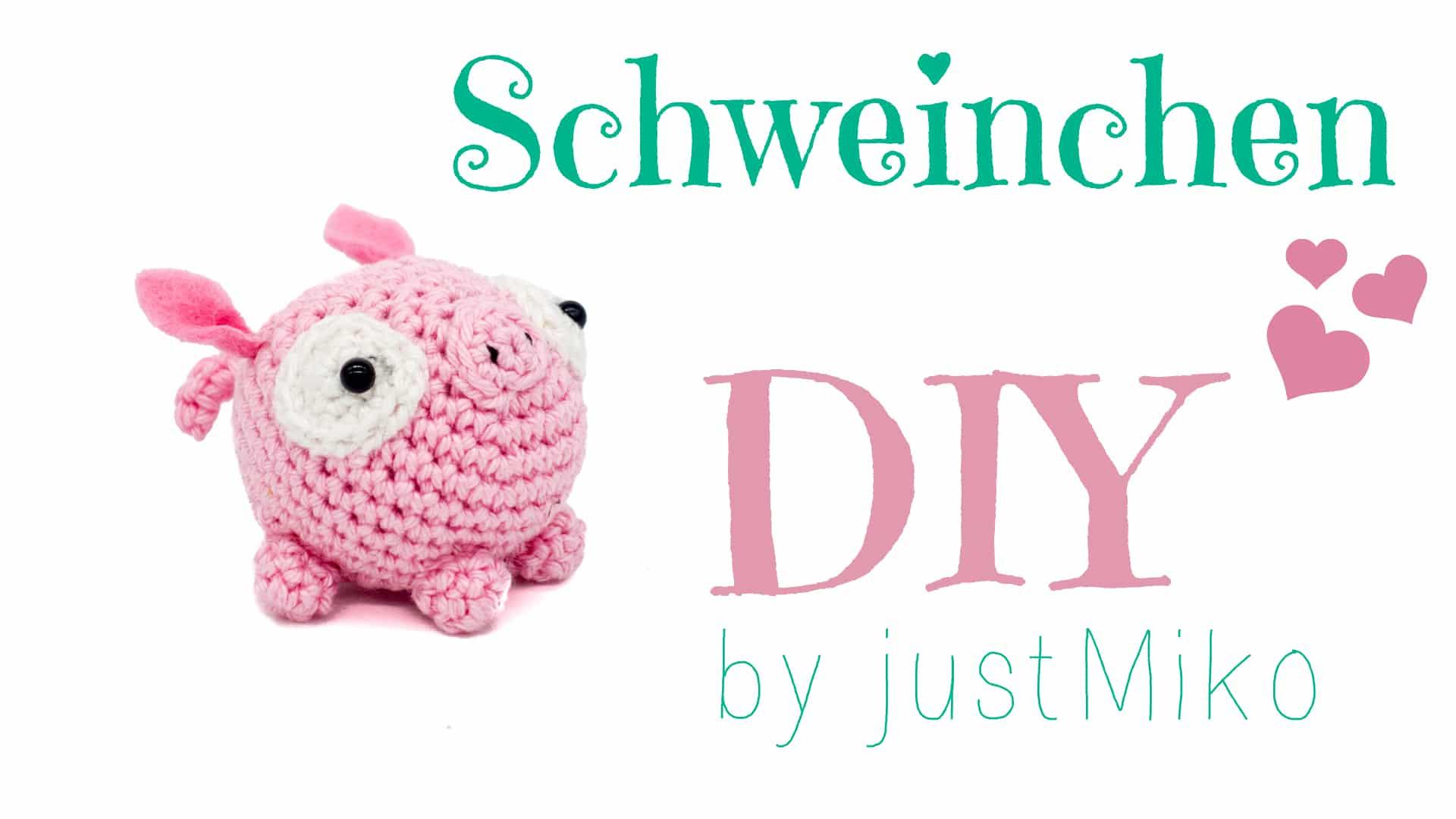 Schweinchen Justmikode Gratis Anleitungen Zum Häkeln Stricken